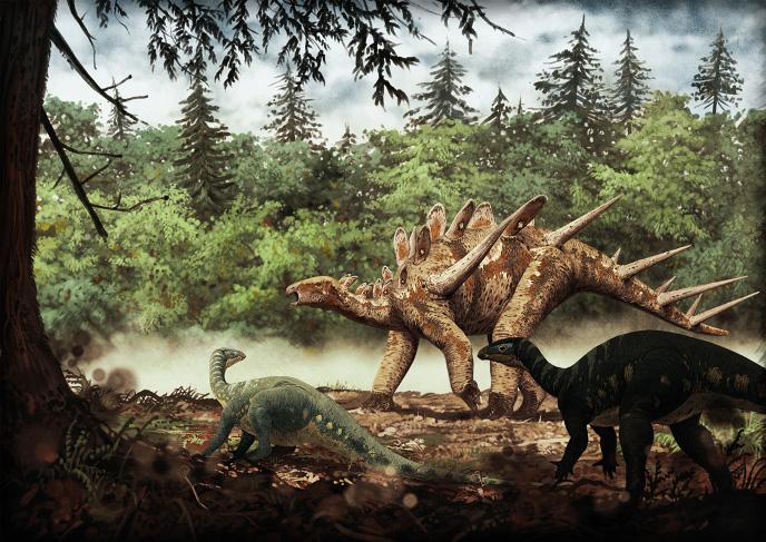 Камптозавры и дацентрур