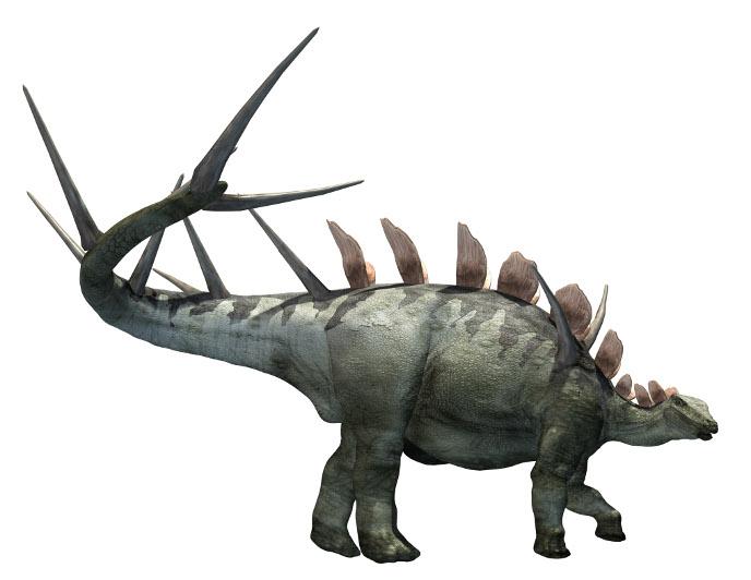 Динозавры и Мир Юрского Периода №28 - Самка-Кентрозавр