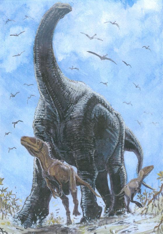 Бахариязавры и паралититан