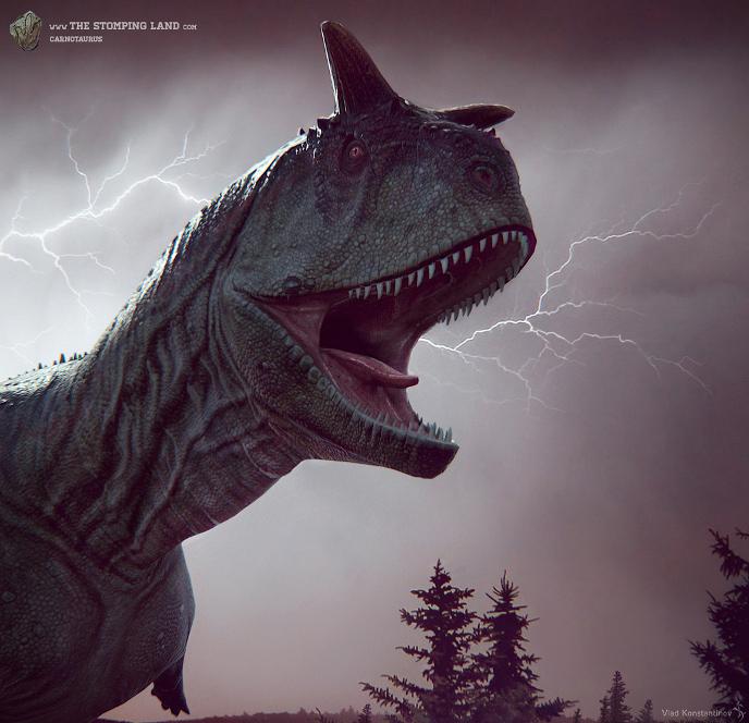 Динозавры и Мир Юрского Периода №22 - Самка-Карнотавр
